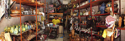 Store for religious objects in Havana 2014